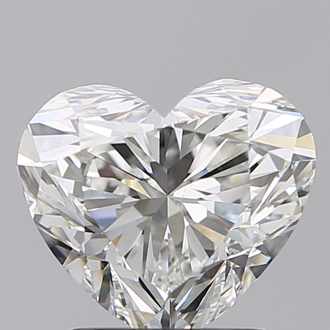 2.02 Carat Heart Loose Diamond, G, VS2, Super Ideal, GIA Certified | Thumbnail
