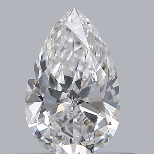 0.40 Carat Pear Loose Diamond, E, VS2, Ideal, GIA Certified