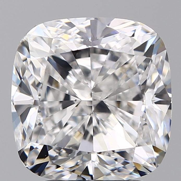 4.00 Carat Cushion Loose Diamond, D, VS2, Excellent, GIA Certified