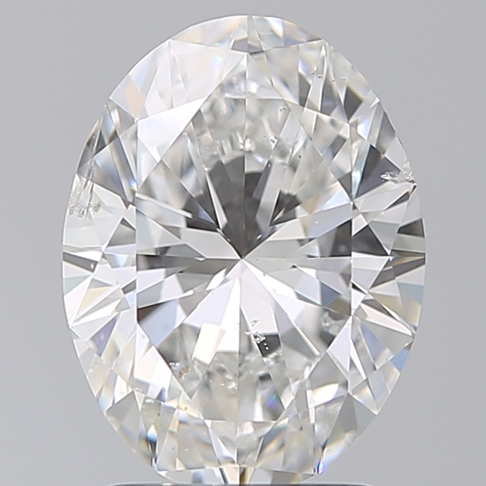 2.00 Carat Oval Loose Diamond, F, SI2, Super Ideal, GIA Certified | Thumbnail