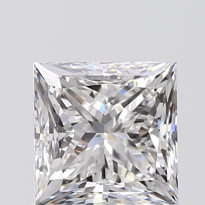 1.00 Carat Princess Loose Diamond, G, VS2, Excellent, GIA Certified