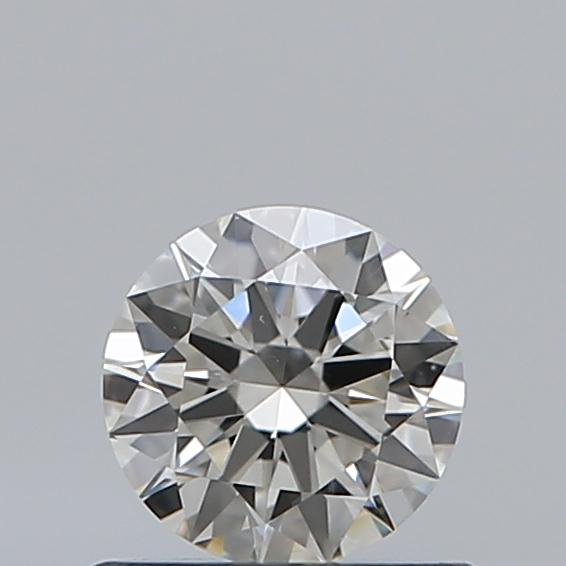0.50 Carat Round Loose Diamond, I, VS2, Excellent, GIA Certified