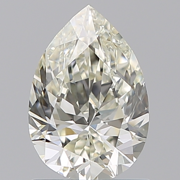 0.96 Carat Pear Loose Diamond, L, VS2, Ideal, GIA Certified | Thumbnail
