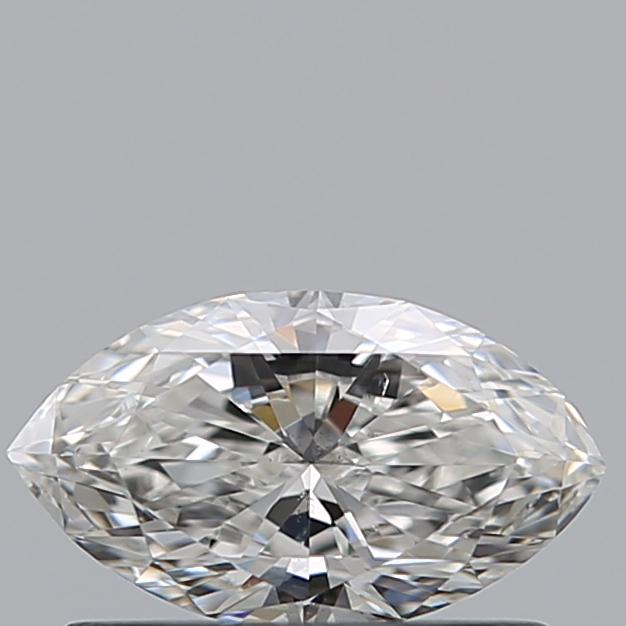0.42 Carat Marquise Loose Diamond, F, SI2, Super Ideal, GIA Certified