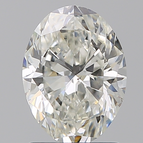 1.29 Carat Oval Loose Diamond, I, SI1, Ideal, GIA Certified