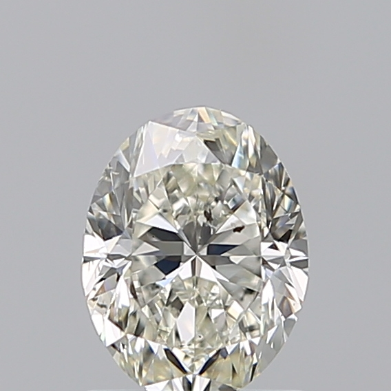0.96 Carat Oval Loose Diamond, I, SI2, Excellent, GIA Certified | Thumbnail
