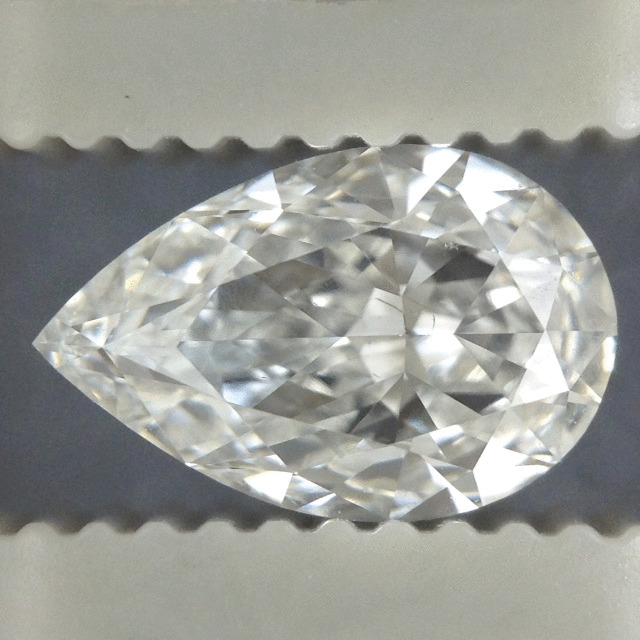 1.10 Carat Pear Loose Diamond, G, SI1, Excellent, GIA Certified