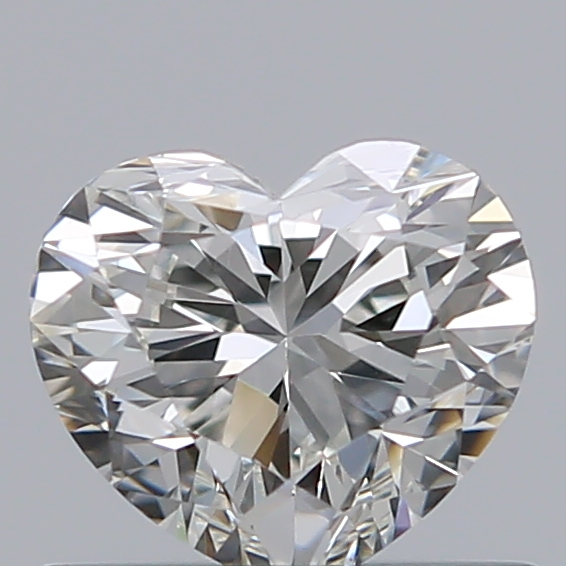0.51 Carat Heart Loose Diamond, I, VS2, Super Ideal, GIA Certified
