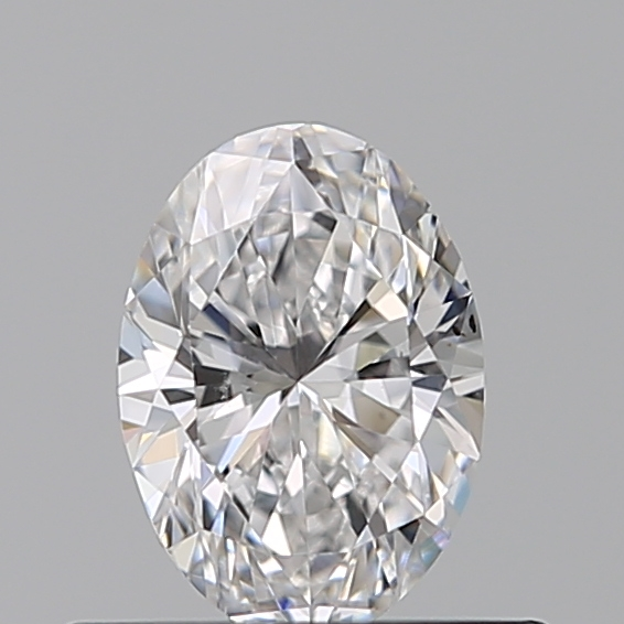 0.40 Carat Oval Loose Diamond, D, VS1, Ideal, GIA Certified