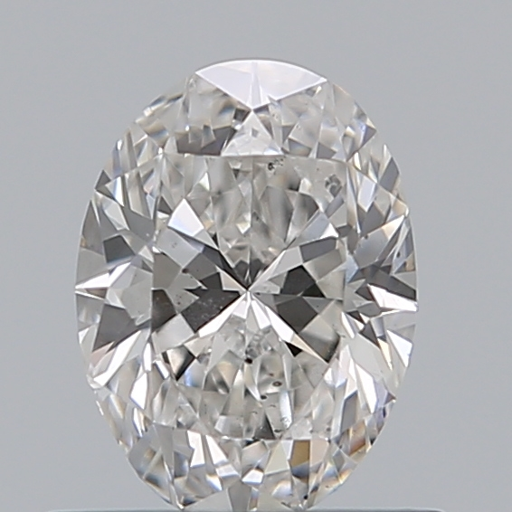 0.59 Carat Oval Loose Diamond, F, SI1, Excellent, GIA Certified