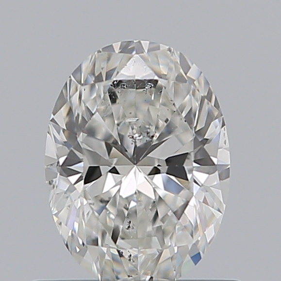 0.60 Carat Oval Loose Diamond, F, SI2, Super Ideal, GIA Certified