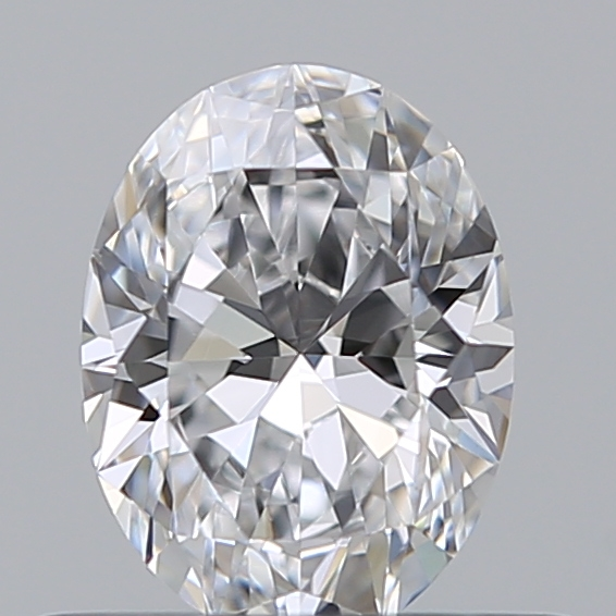 0.41 Carat Oval Loose Diamond, D, VVS2, Super Ideal, GIA Certified