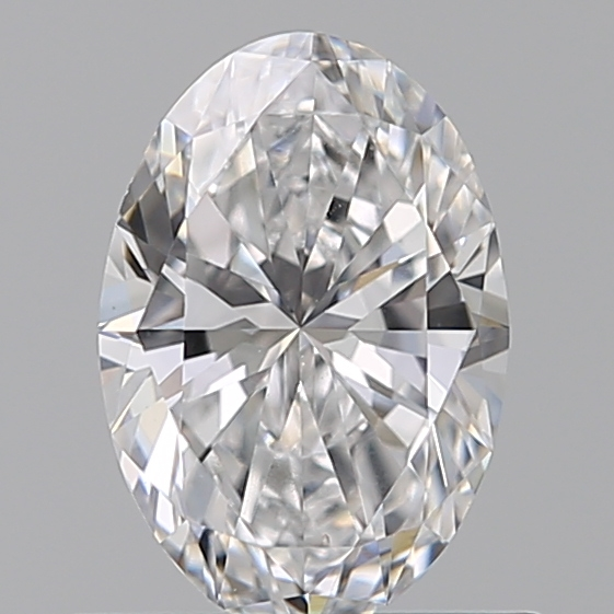 0.55 Carat Oval Loose Diamond, D, IF, Ideal, GIA Certified