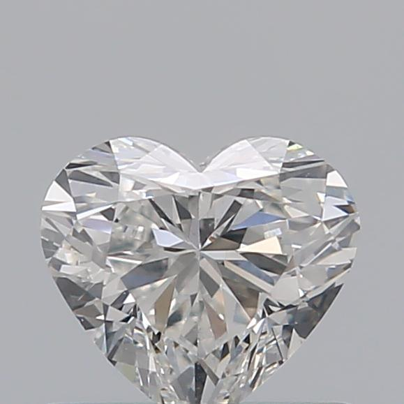 0.51 Carat Heart Loose Diamond, G, VS2, Super Ideal, GIA Certified | Thumbnail