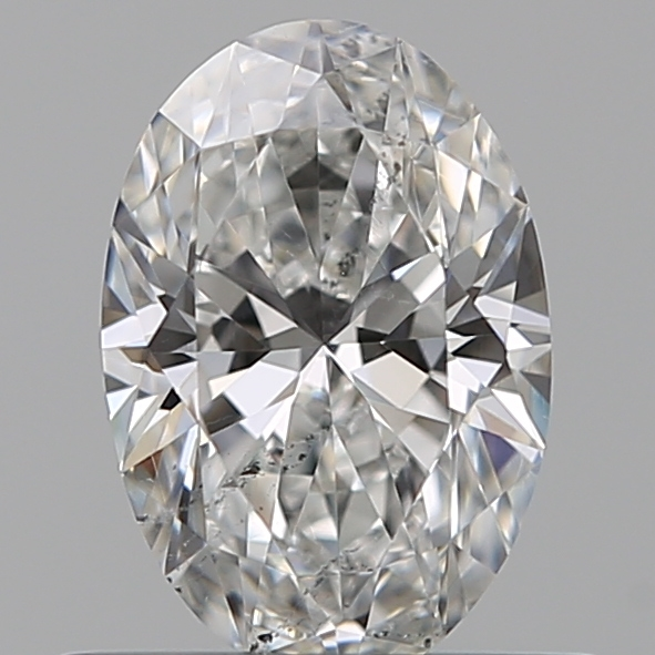 0.49 Carat Oval Loose Diamond, F, SI2, Ideal, GIA Certified