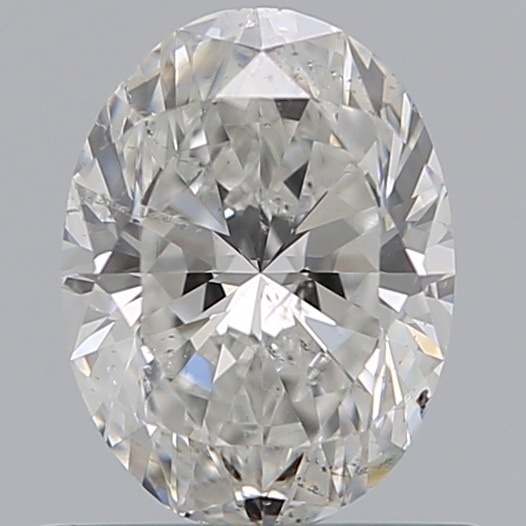0.70 Carat Oval Loose Diamond, F, SI2, Super Ideal, GIA Certified