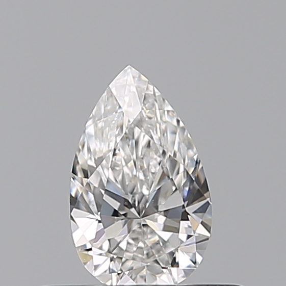 0.30 Carat Pear Loose Diamond, E, VS2, Excellent, GIA Certified