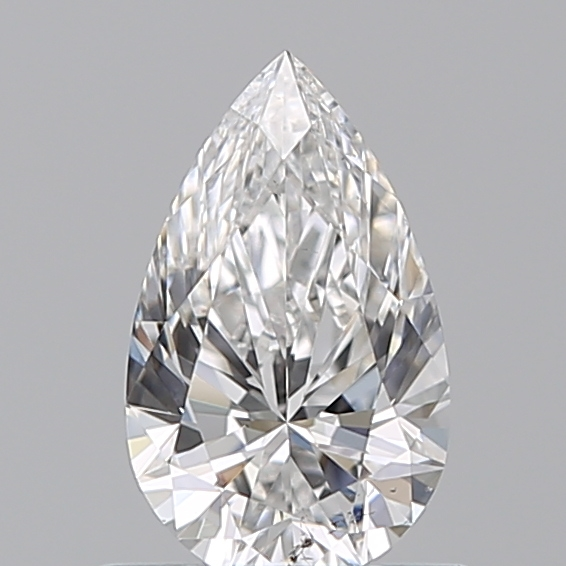 0.59 Carat Pear Loose Diamond, E, SI1, Super Ideal, GIA Certified
