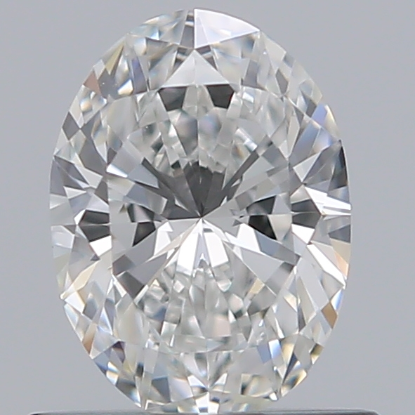 0.54 Carat Oval Loose Diamond, D, VS1, Super Ideal, GIA Certified