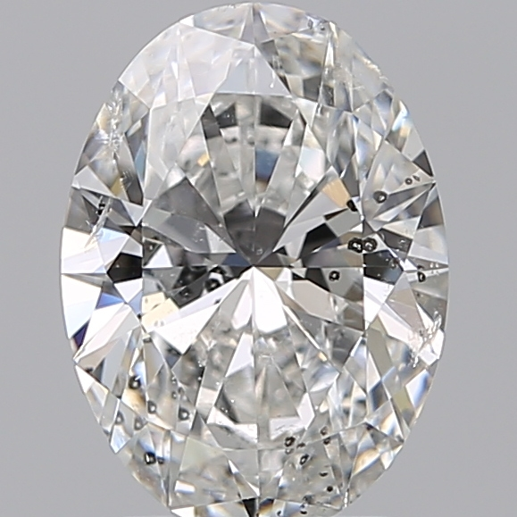 1.70 Carat Oval Loose Diamond, F, SI2, Super Ideal, GIA Certified | Thumbnail