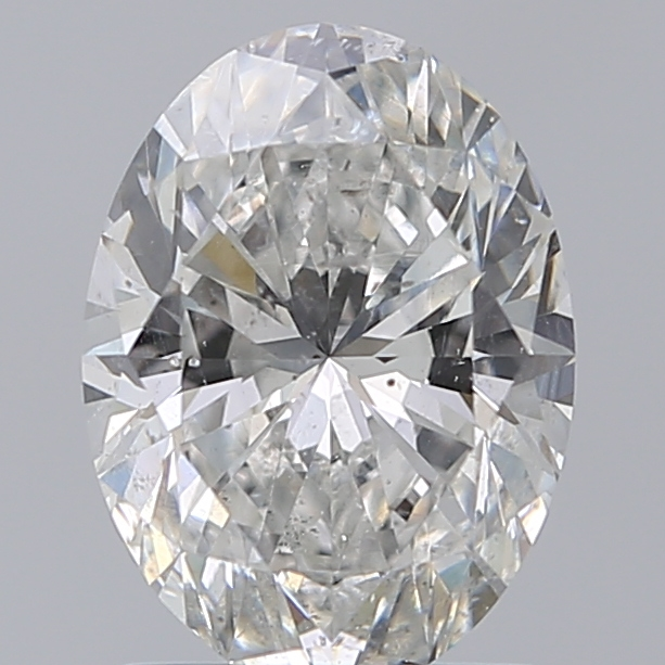 1.51 Carat Oval Loose Diamond, G, SI2, Super Ideal, GIA Certified