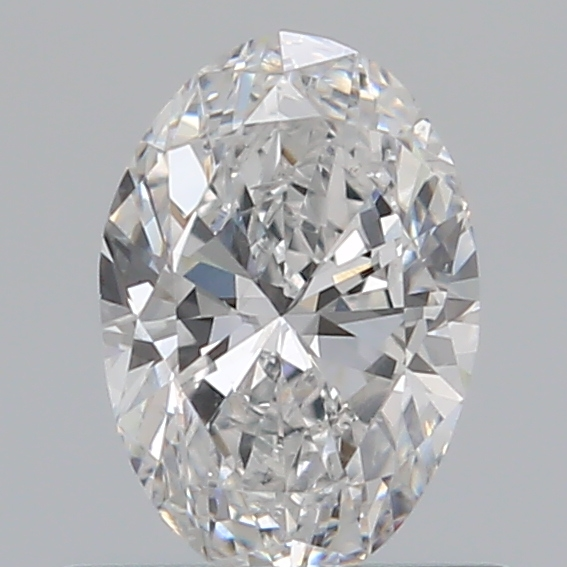 0.50 Carat Oval Loose Diamond, E, SI2, Excellent, GIA Certified