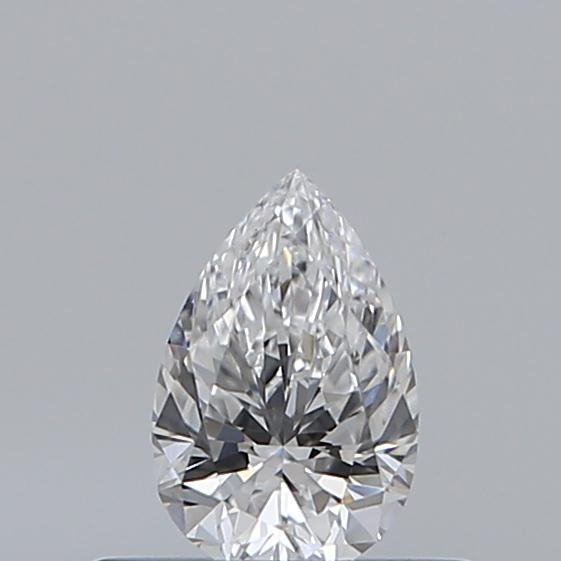 0.33 Carat Pear Loose Diamond, D, VVS1, Super Ideal, GIA Certified