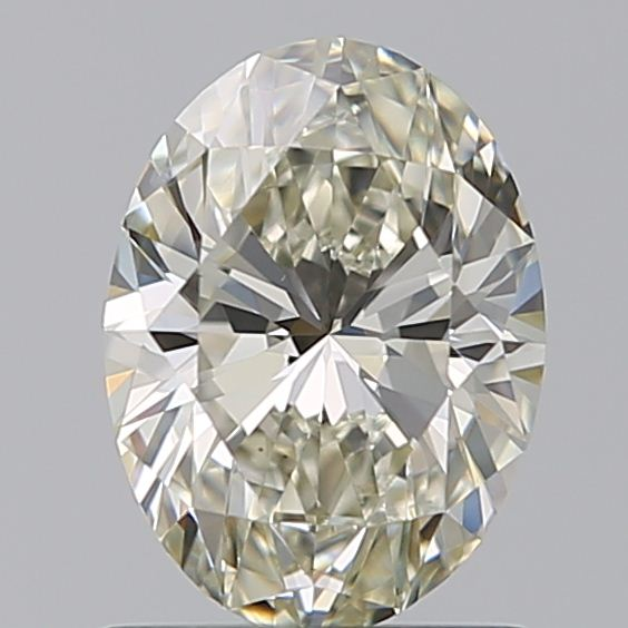 1.00 Carat Oval Loose Diamond, K, VS2, Super Ideal, GIA Certified