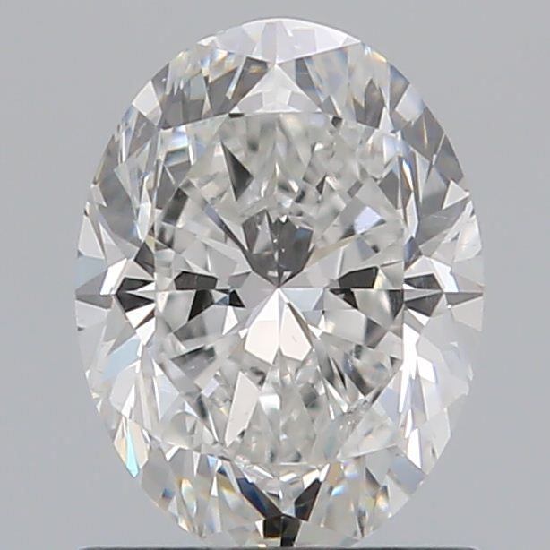 0.90 Carat Oval Loose Diamond, F, SI1, Ideal, GIA Certified | Thumbnail