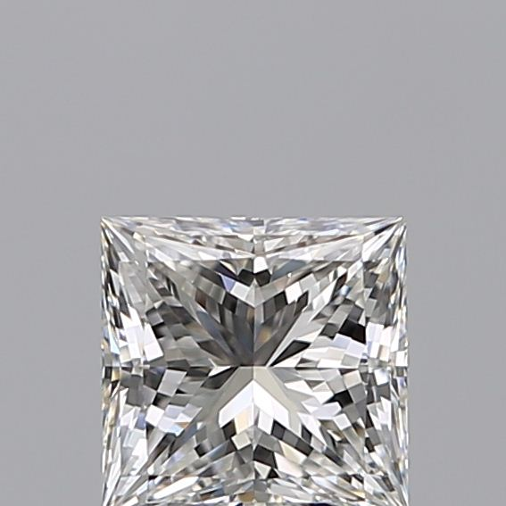 1.00 Carat Princess Loose Diamond, G, IF, Super Ideal, GIA Certified