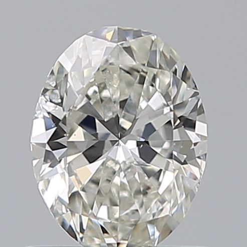 0.70 Carat Oval Loose Diamond, I, SI2, Excellent, GIA Certified