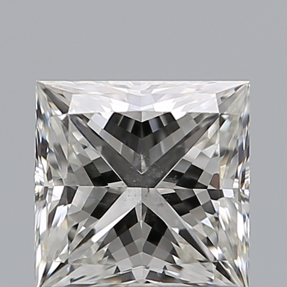 0.81 Carat Princess Loose Diamond, H, SI1, Super Ideal, GIA Certified