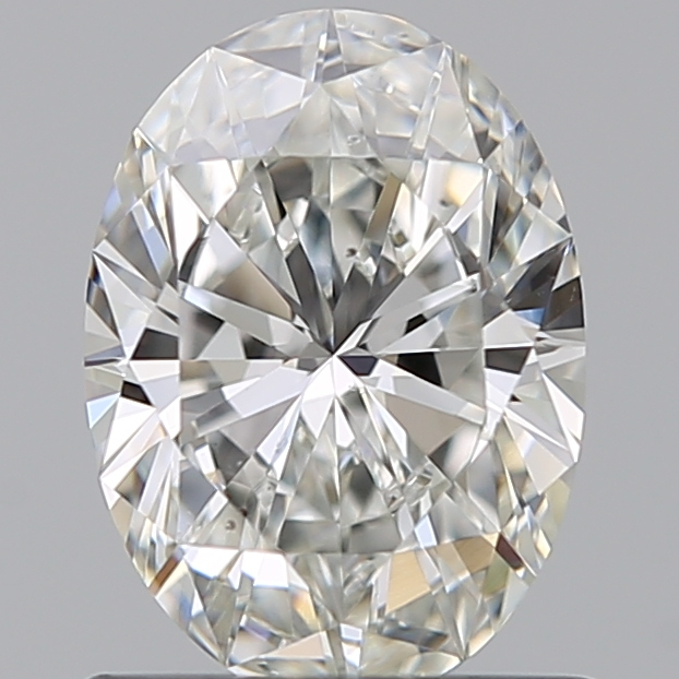 0.75 Carat Oval Loose Diamond, H, VS2, Super Ideal, GIA Certified | Thumbnail