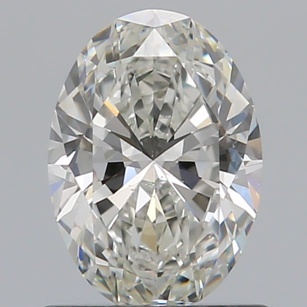 0.70 Carat Oval Loose Diamond, I, VS2, Super Ideal, GIA Certified
