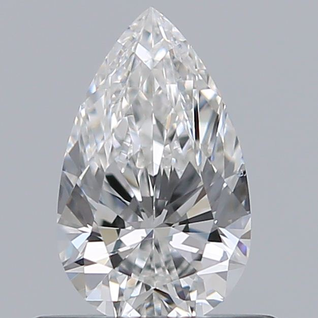 0.50 Carat Pear Loose Diamond, F, VS2, Super Ideal, GIA Certified