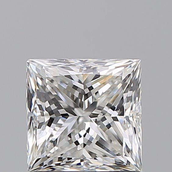 1.00 Carat Princess Loose Diamond, G, VS2, Ideal, GIA Certified