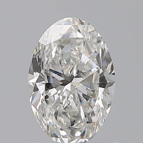 0.59 Carat Oval Loose Diamond, G, SI1, Excellent, GIA Certified