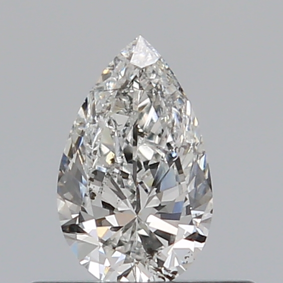 0.31 Carat Pear Loose Diamond, G, SI2, Excellent, GIA Certified | Thumbnail