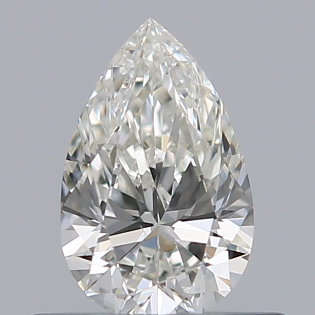 0.38 Carat Pear Loose Diamond, H, VS1, Ideal, GIA Certified | Thumbnail