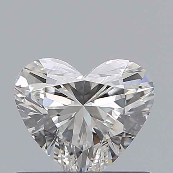 0.52 Carat Heart Loose Diamond, G, VS2, Super Ideal, GIA Certified | Thumbnail