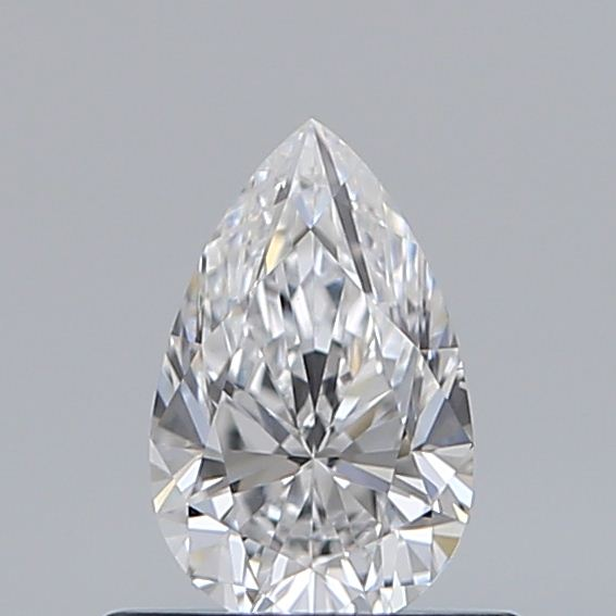 0.50 Carat Pear Loose Diamond, D, VS2, Ideal, GIA Certified