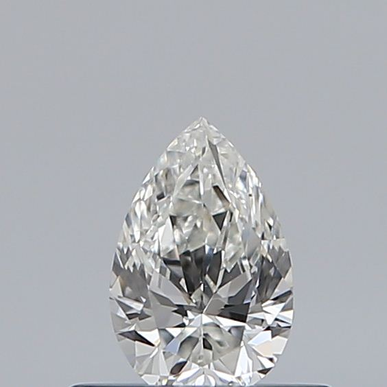 0.31 Carat Pear Loose Diamond, I, VVS2, Excellent, GIA Certified