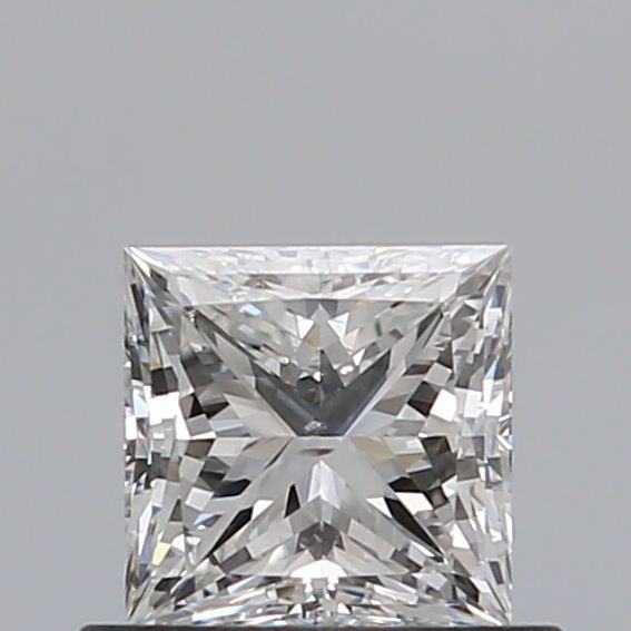 0.50 Carat Princess Loose Diamond, F, SI1, Super Ideal, GIA Certified