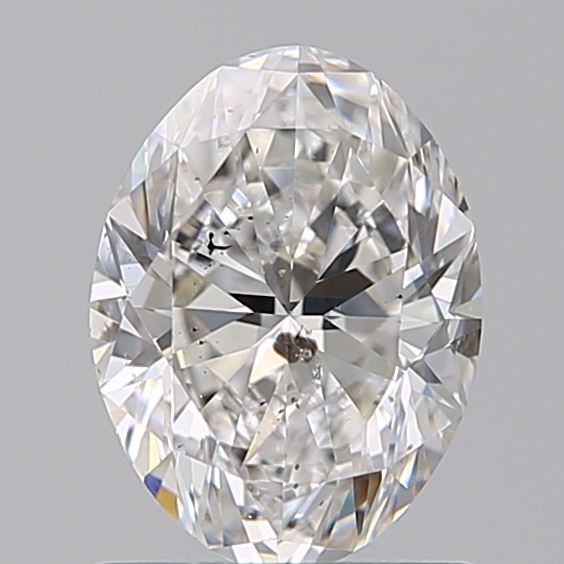 1.00 Carat Oval Loose Diamond, G, I1, Ideal, GIA Certified
