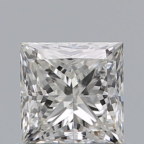 0.70 Carat Princess Loose Diamond, G, SI1, Ideal, GIA Certified | Thumbnail