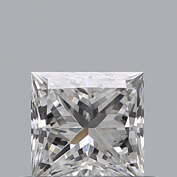 0.42 Carat Princess Loose Diamond, D, VS2, Ideal, GIA Certified | Thumbnail