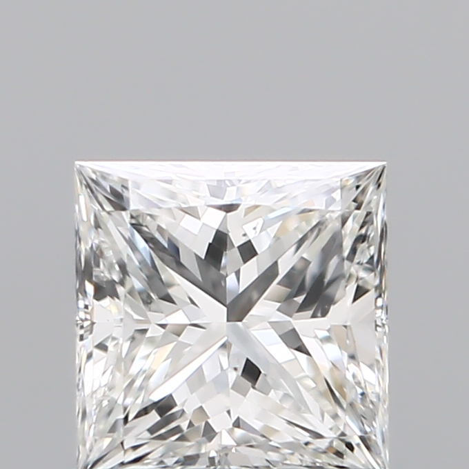 0.70 Carat Princess Loose Diamond, H, VS2, Super Ideal, GIA Certified