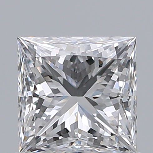 0.71 Carat Princess Loose Diamond, E, VVS1, Super Ideal, GIA Certified