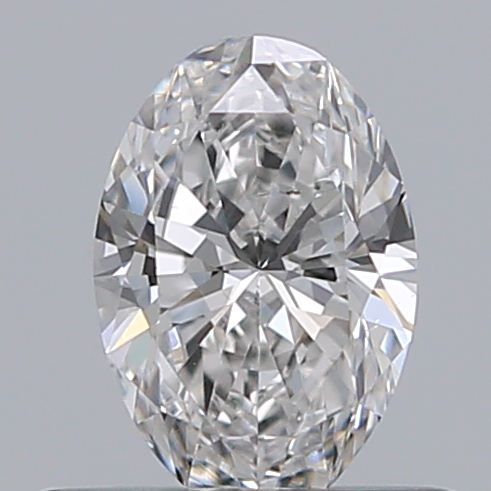 0.40 Carat Oval Loose Diamond, F, VS2, Super Ideal, GIA Certified
