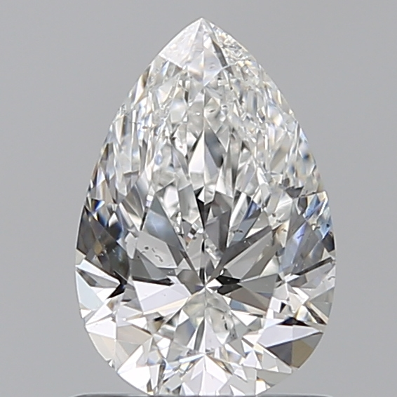 0.80 Carat Pear Loose Diamond, F, SI1, Super Ideal, GIA Certified